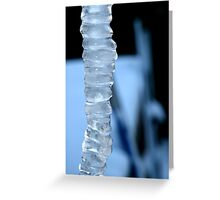 Spine  Icicle Greeting Card