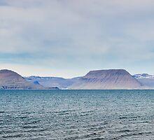 View over Isafjardardjup by Ólafur Már Sigurðsson