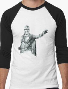 Magneto art Men's Baseball ¾ T-Shirt