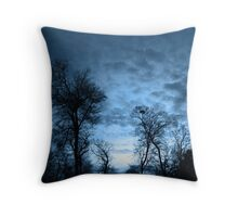 Bordeaux Sky Throw Pillow