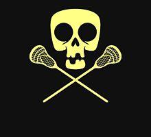 Lacrosse Skull Pirate Crossbones Sport Unisex T-Shirt