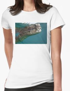 The Set Of Teeth Womens Fitted T-Shirt