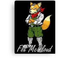 Fox McCloud Canvas Print