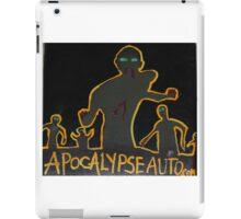 zzzzzzombies! apocalypse auto iPad Case/Skin