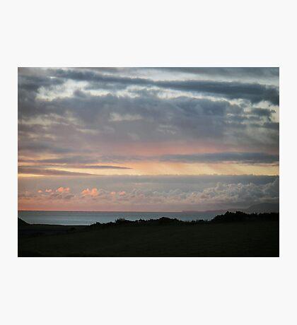 A simplistic dawn Photographic Print