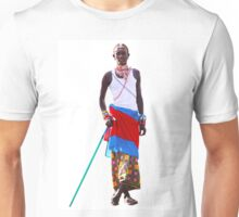Massai warrior Unisex T-Shirt