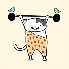 Stay Strong Kitty Cat  by zoel