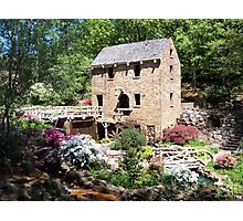 Springtime at the Old Mill Photographic Print
