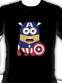 minion captain america T-Shirt