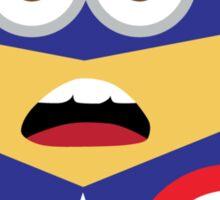minion captain america Sticker