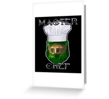 Cooking Lessons Greeting Card