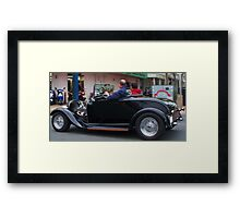 Roadster Framed Print