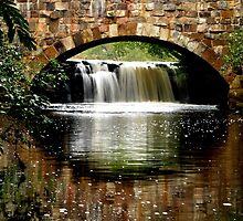 Davies Bridge at Petit Jean State Park by davidsimmons