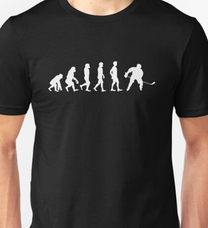 Evolution of a Hockey Player Unisex T-Shirt