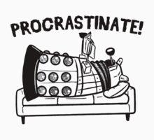 Procrastinate Robot by Rudhei1982