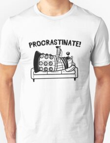 Procrastinate Robot T-Shirt