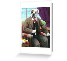 Sweet Pete - Fantasy oil painting Greeting Card