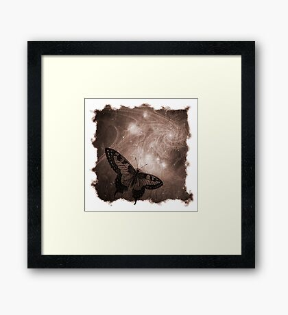The Atlas of Dreams - Plate 4 Framed Print