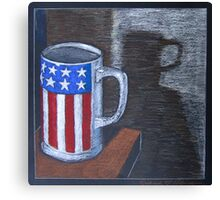 """""""Late night cup"""" Canvas Print"""