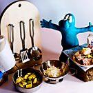 Gommolo is in the kitchen by mario farinato