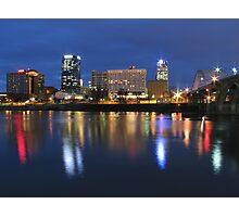 Bright Lights, Little City Photographic Print
