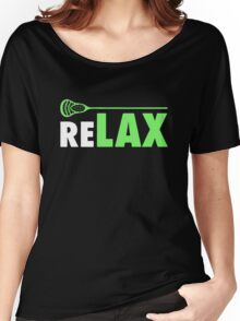 ReLAX Lacrosse Sticks Women's Relaxed Fit T-Shirt