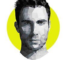 Adam Levine by Efren Elegado
