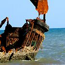 Wreck of the Carpentaria Light Ship #1 by Marilyn Harris