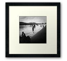 Piers Framed Print