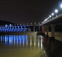 Blues at the Big Dam Bridge by davidsimmons