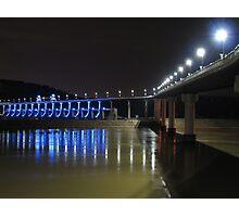 Blues at the Big Dam Bridge Photographic Print