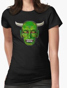 Imp Face Womens Fitted T-Shirt