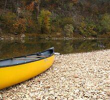 Canoe along the Buffalo National River by davidsimmons