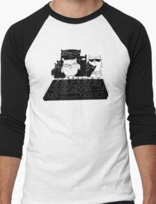 keyboard Men's Baseball ¾ T-Shirt