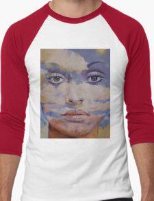 Mona Lisa Men's Baseball ¾ T-Shirt