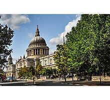St. Pauls Cathedral, London Photographic Print
