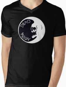 Vintage Dead Moon Mens V-Neck T-Shirt