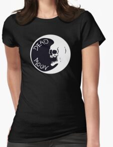 Vintage Dead Moon Womens Fitted T-Shirt