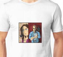 Hannibal - Alana and the leg Unisex T-Shirt