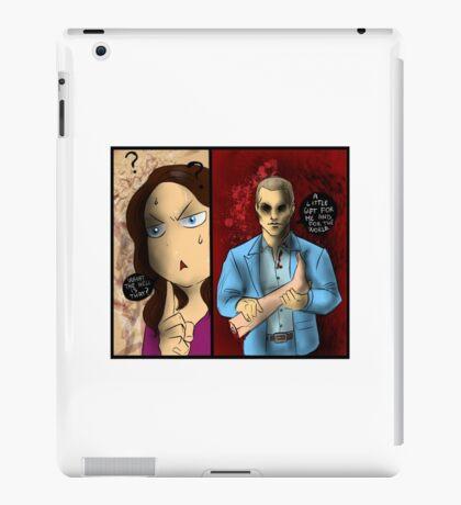 Hannibal - Alana and the leg iPad Case/Skin