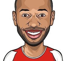 Thierry Henry, Arsenal by futballers