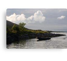 Curragh in the Burren Canvas Print