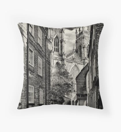 A city within a city Throw Pillow