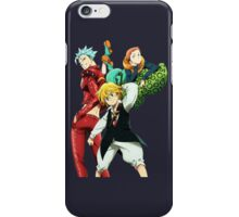 nanatsu no taizai seven deadly sins king anime manga shirt iPhone Case/Skin