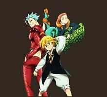 nanatsu no taizai seven deadly sins king anime manga shirt Unisex T-Shirt