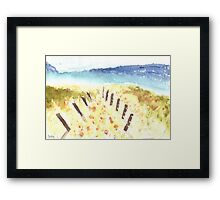 Sunday Afternoon Framed Print