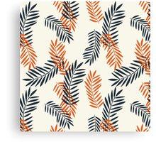 Bi-leaf Canvas Print