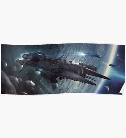 Javelin Destroyer Poster