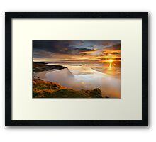 Castle Point Sunrise Framed Print
