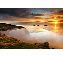 Castle Point Sunrise Photographic Print